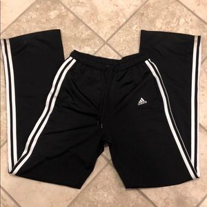 Vintage high-waisted adidas striped track pant
